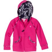 Lilly Pulitzer Girls 2-6X Brigit Solid Hoodie Azalea Pink - Jacket - coats - $68.00