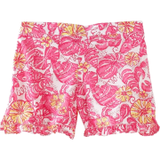 Lilly Pulitzer Girls 2-6X Little Callahan Short, Resort White, X-Small - Shorts - $38.00