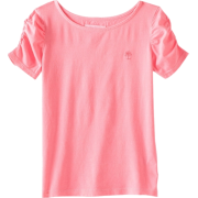 Lilly Pulitzer Girls 2-6X Little Lana Knit Boat Neck Top neon pink - Top - $30.99