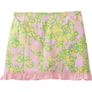 Lilly Pulitzer Girls 2-6X Mini Callie Scooter Skirt, Lillys Pink Mariposa, X-Small - Skirts - $48.00