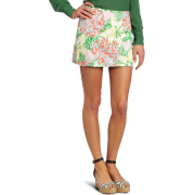 Lilly Pulitzer Women's Callie Skirt Resort White Mariposa - Skirts - $57.00