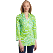 Lilly Pulitzer Women's Ciara Tunic Blue Hot House - Tunic - $134.99