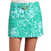 Lilly Pulitzer Women's Rochele Skirt Shorely Blue Toucan Tango - Skirts - $94.99