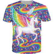 Lisa Frank Shirt - T-shirts - $18.00