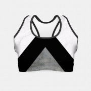 Live Heroes Crop top Arrows Collage - Tanks - $34.95