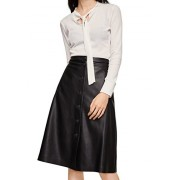 MANGO Women's Buttoned Midi Skirt - Saias - $79.99  ~ 68.70€
