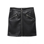 MANGO Women's Decorative Zip Skirt - Saias - $49.99  ~ 42.94€