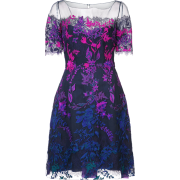 MARCHESA NOTTE dress with floral embroid - Dresses - $20.00