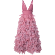 MARCHESA NOTTE ruffled A-line gown - Dresses - $1.00