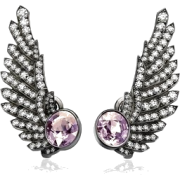 MARGARET JEWELS grey white gold earrings - Orecchine -