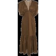MARYSIA brown dress - Obleke -