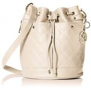 MG Collection EVA Quilted Drawstring Bucket Shoulder Bag - Hand bag - $41.49