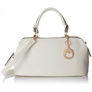 MG Collection Elpida Faux Crocodile Rhinestone Accent Doctor Handbag - Accessories - $29.99
