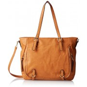 MG Collection Nessa Shopper Shoulder Bag - Accessories - $32.50