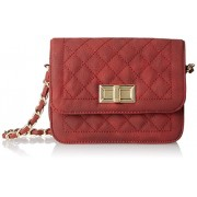 MG Collection Rosa Quilted Satchel Cross Body - Hand bag - $41.40