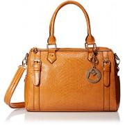 MG Collection Talia Snake Bowling Top Handle Bag - Hand bag - $42.00