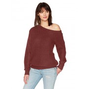 MINKPINK Women's One Sided Jumper Chunky Sweater - Shirts - $39.52