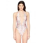 MINKPINK Women's Summer Meadow Tie Front1piece - Swimsuit - $76.31