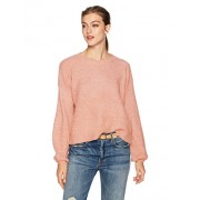 MINKPINK Women's Willow Blouson Sleeve Oversized Jumper Sweater - Shirts - $33.14
