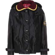 MIU MIU Wool-trimmed jacket - Chaquetas -