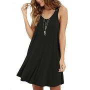 MOLERANI Women's Casual Swing Simple T-Shirt Loose Dress - Dresses - $39.99