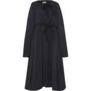 MOLLY GODDARD black poplin coat - Jacket - coats -