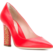 MOSCHINO logo heel pumps - Classic shoes & Pumps - 467.00€  ~ ¥61,196