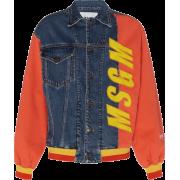 MSGM Jacket With Msgm Logo Embriodered - Jacket - coats -