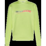 MSGM Long Sleeve Logo Tee - Long sleeves shirts -