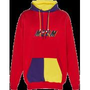 MSGM Msgm Logo Hoody - Pullovers -