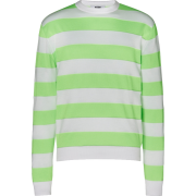 MSGM Striped Fluo Sweater - Pullovers -