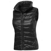 Made by Emma Women's Casual Light Weight Quilted Padding Vest - Outerwear - $12.97
