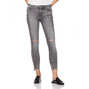 Madison Denim Women's Astor Skinny Ankle Jean with Track Stripe Ash - scarpe di baletto - $79.95  ~ 68.67€