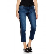 Madison Denim Women's Crosby Straight Leg Crop Jean Two Tone - scarpe di baletto - $89.95  ~ 77.26€