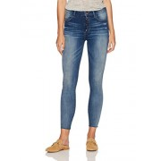 Madison Denim Women's Parsons High Rise Jean with Exposed Button Lapis - scarpe di baletto - $79.95  ~ 68.67€