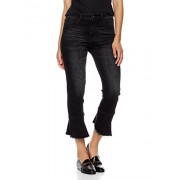 Madison Women's Monroe Slim Straight Leg Jean with Flounce Kingsley - scarpe di baletto - $89.95  ~ 77.26€