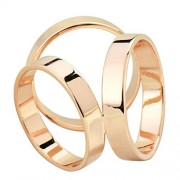 Maikun Scarf Ring Modern Simple Design Triple-ring Scarf Ring Gift for Valentine's Day - Anelli - $17.99  ~ 15.45€