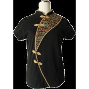 Mandarin tunic (Eastern Serenity) - Tunic - $49.00