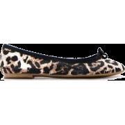 Mango Women's Animal Print Ballerinas - Shoes - $34.99