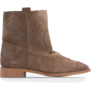 Mango Women's Brushed-suede Ankle Boots - Boots - $129.99