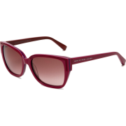Marc By Marc Jacobs 238/S Sunglasses 0CAI Cyclamen Pink Blue (D8 Brown Gradient Lens) - Sunglasses - $80.95