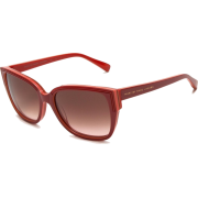 Marc By Marc Jacobs 238/S Sunglasses 0D96 Red Yellow Pink (K8 Brown Gradient Lens) - Sunglasses - $80.95