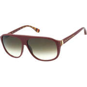 Marc by Marc Jacobs MMJ160/S Sunglasses - 0M4Z Striped Red (0D Brown Gradient Lens) - 61mm - Sunglasses - $117.27