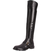 Marc by Marc Jacobs Women's 626240/11 Knee-High Boot Black Nappa - Boots - $525.00