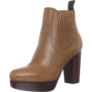 Marc by Marc Jacobs Women's 626756/1 Ankle Boot Camel Calf - Boots - $450.00
