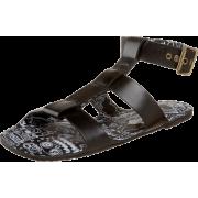 Marc by Marc Jacobs Women's Gary Sandal Black - Sandals - $111.91