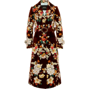 MarcJacobs Embroidered Floral Trenchcoat - Jacket - coats -