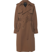 Marc Jacobs brown wool trenchcoat - Jacket - coats -