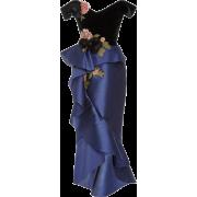 Marchesa Floral Appliqué Off-The-Shoulde - Dresses - $3,595.00