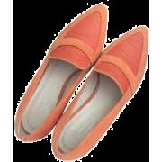 Max Mara Orange Flats - Flats -